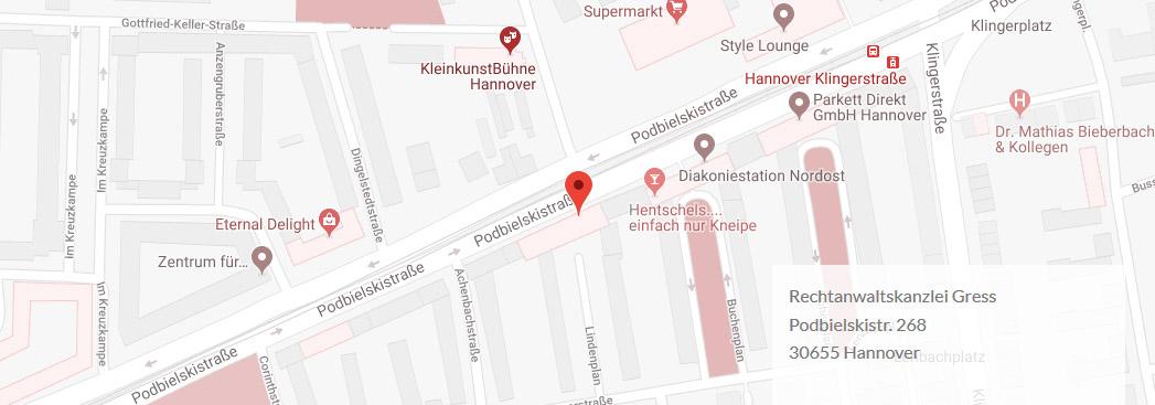 verkehrsrechts-hannover-maps
